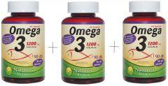 1200mg Omega3, Extra 1000 UI. D3-vitaminnal.
