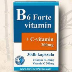 B6 Forte+C-vitamin kapszula (30db)