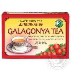 Galagonya tea - Természetes segitség a nehéz étkek után