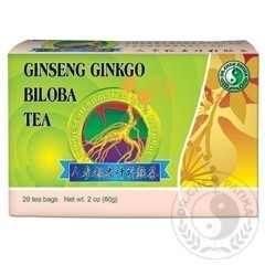 Ginseng-Ginkgo-Zöld tea - A szellemi teljesítmény fenntartásához