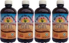 4 palack Aloe Vera natúr GÉL (3,78 liter)