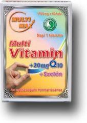 Multi-Max vitamin tabletta Q10-zel - Dr Chen Patika