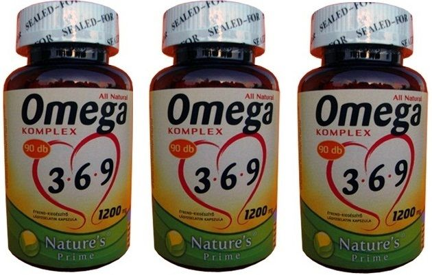 9 hónapi adag! 1200mg Omega 3-6-9, szívünk és érrendszerünk egészségéhez.