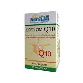 Nutrilab 30mg Q10 koenzim (30 kapszula)