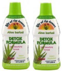 2 palack Aloe Vera Speciális Méregtelenítő Formula