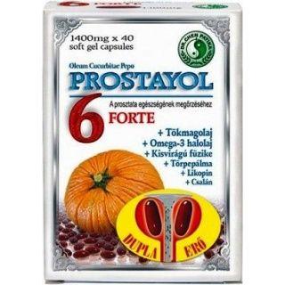 Dr. Chen Prostayol 6 Forte lágyzselatin kapszula 40db
