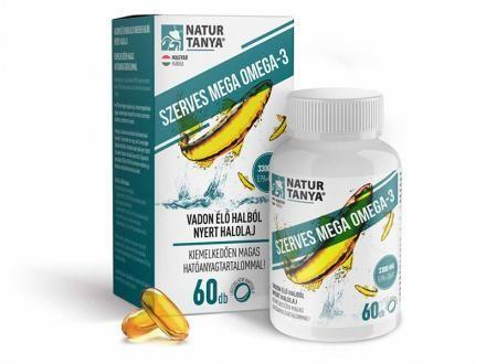 Mega Omega-3 - vadvízi halolaj, extra EPA és DHA tartalom