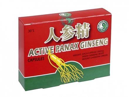 Aktív Panax Ginseng kapszula 30x - Immunrenerősítő, hozzájárul a fizikai és szellemi frissességhez.