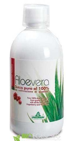 Aloe Vera Juice, tőzegáfonyás, erdei gyümölcsös (1000 ml.)