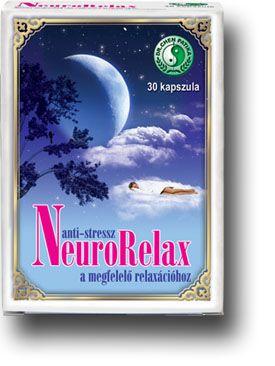 Anti-stressz Neurorelax 30db kapszula - Dr Chen Patika