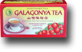 Galagonya tea - Dr. Chen Patika