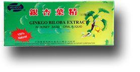 Ginkgo Biloba ampulla - Dr. Chen Patika