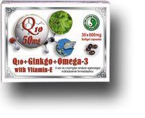 Q10 Ginkgo Omega-3 kapszula - Dr. Chen Patika