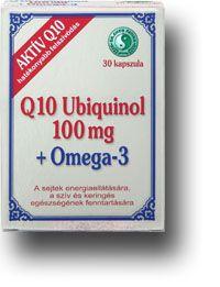 Q10 Ubiquinol (QH) 100 mg Omega-3 lágyzselatin kapszula - Dr. Chen Patika