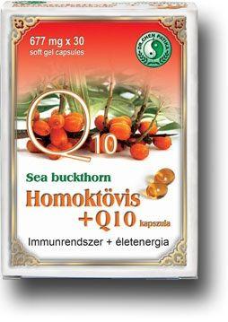 Homoktövis + Q10 lágyzselatin kapszula - Dr. Chen Patika