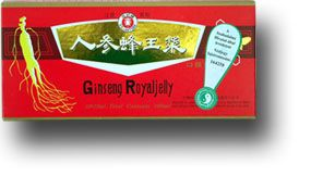 Ginseng Royal Jelly ampulla - Dr Chen Patika
