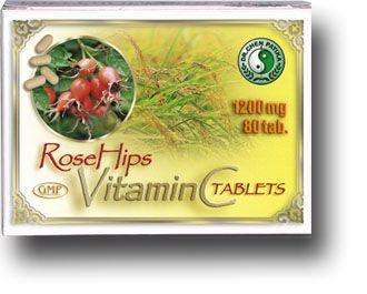 Natúr C-vitamin tabletta csipkebogyó-kivonattal - Dr Chen Patika